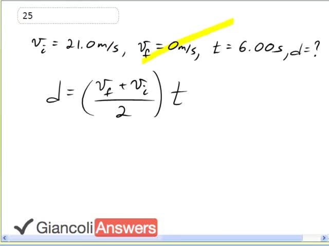 Giancoli physics 5th edition.